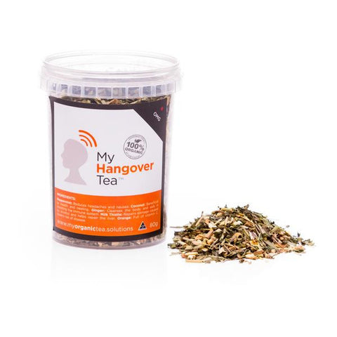 Hangover Loose Leaf Organic Tea - Southern Cross Beauty