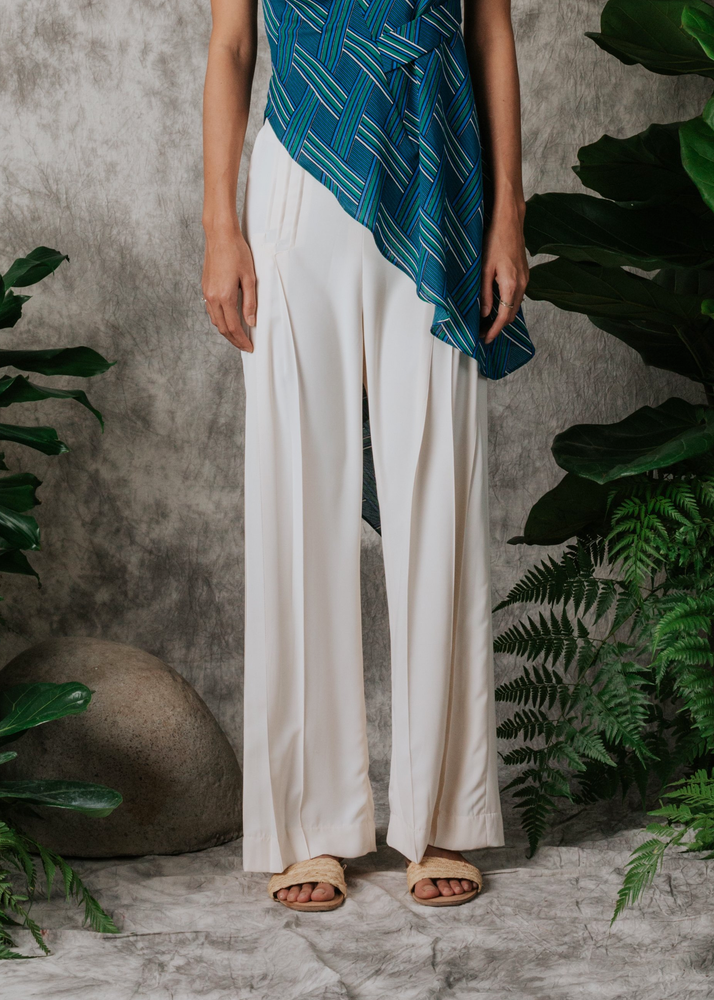Penelope Pleated Tailored Pants