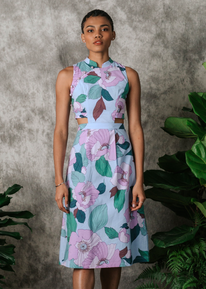 Load image into Gallery viewer, Violetta Convertible Cheongsam (LIMITED EDITION)