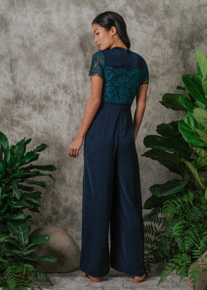 Load image into Gallery viewer, Margaret Lace Maxi Jumpsuit