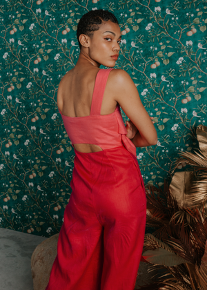 Load image into Gallery viewer, Clio Colour Block Jumpsuit