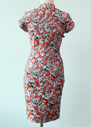 Load image into Gallery viewer, Evie Jacquard Cheongsam (Pre-order)