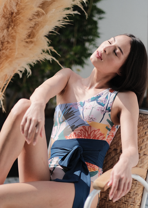 Load image into Gallery viewer, TMP X PINKSALT Tania One-Piece - Print