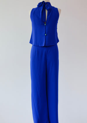 Load image into Gallery viewer, Jess Jumpsuit – Cobalt