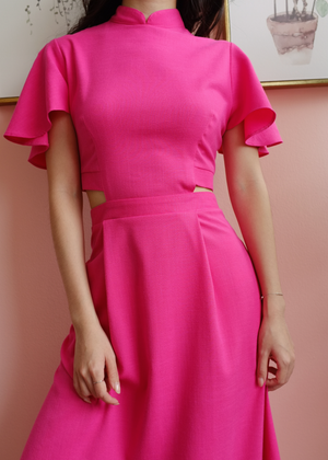 Signature with Sleeves - Fuchsia