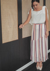 Lucia Maxi Skirt - Stripe