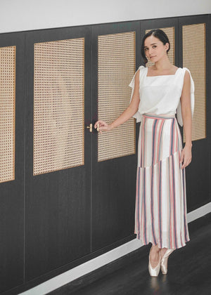 Load image into Gallery viewer, Lucia Maxi Skirt - Stripe