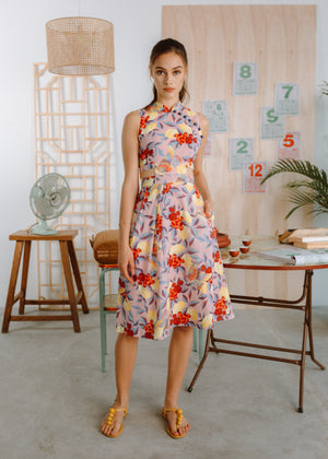 Load image into Gallery viewer, Limoncello Detachable Cheongsam