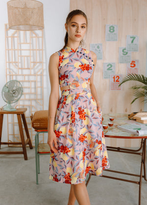 Limoncello Detachable Cheongsam
