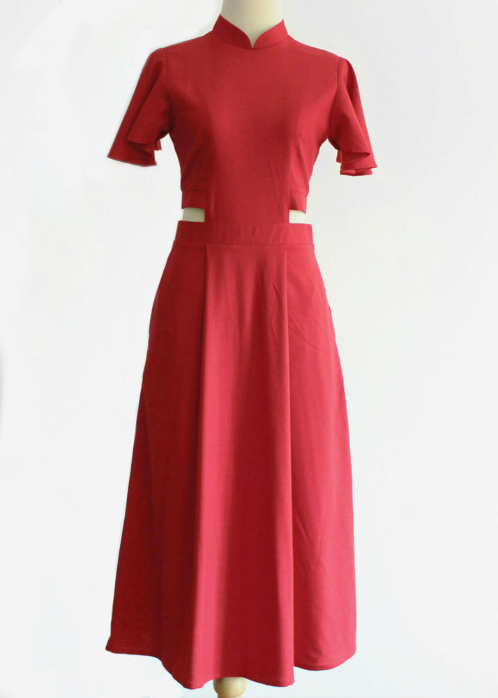 Signature with Sleeves - Red