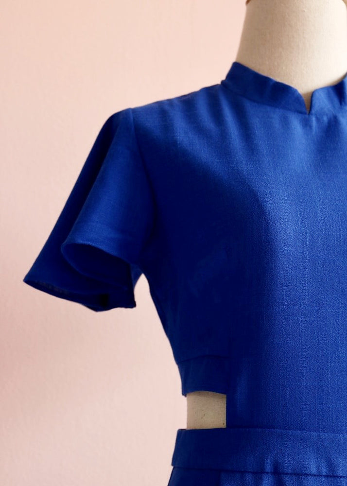 Signature with Sleeves - Cobalt