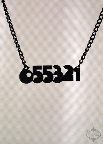 655321 Clockwork Orange Alex Necklace