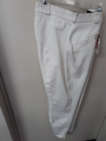 Mark Todd ladies Breeches White. NO RETURNS ON CLEARANCE ITEMS.