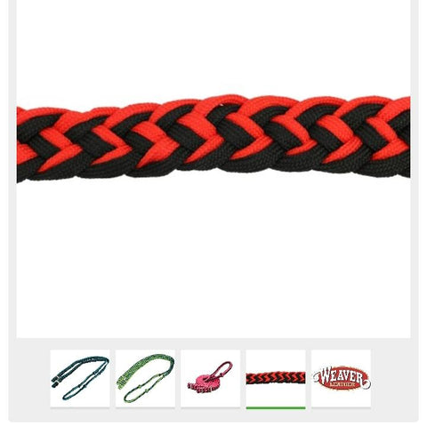 Weaver Barrel Racing Reins