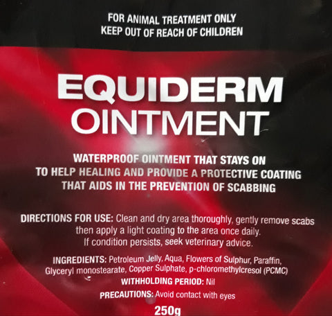 Equiderm Ointment 250gm