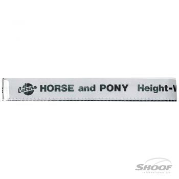 Shoof Horse  Weight Tape