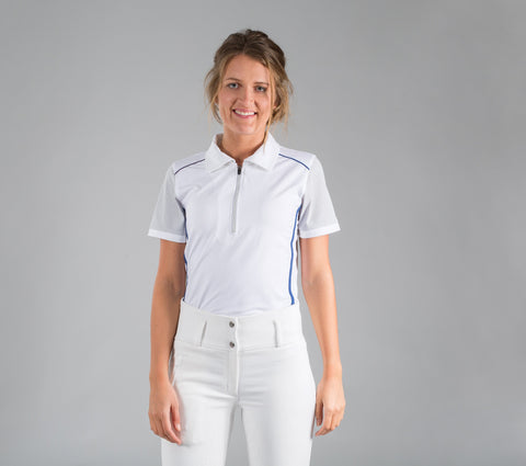 B Vertigo Cathy Collared Show Shirt.  NO RETURNS ON CLEARANCE ITEMS.