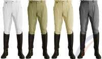 Cavallino Mens Pleated front Breeches