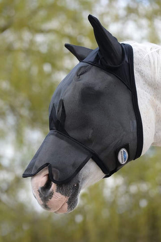 Weatherbeeta Fly Mask with shaped Nose shade