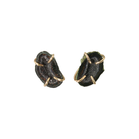 Geode Cave Earrings ***SOLD***