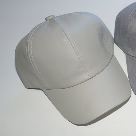 Heather grey cap