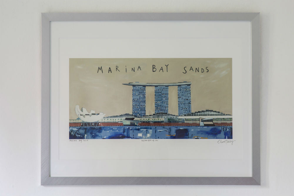 Marina Bay Sands to a collector on Robertson Quay, Singapore