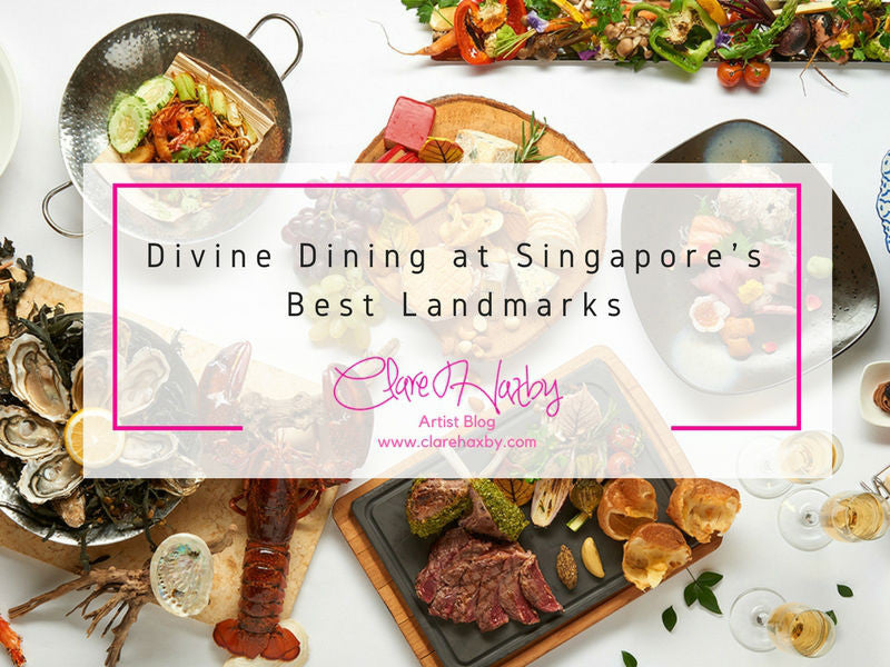 Dining at Singapore's Best Landmarks