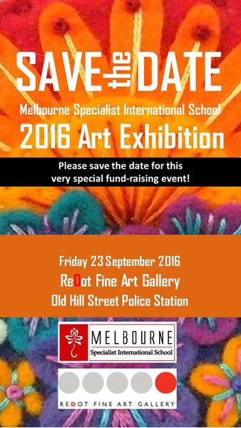 Melbourne International School Art Fundraising Event Singapore