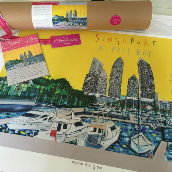 Keppel Bay Art Print by Clare Haxby