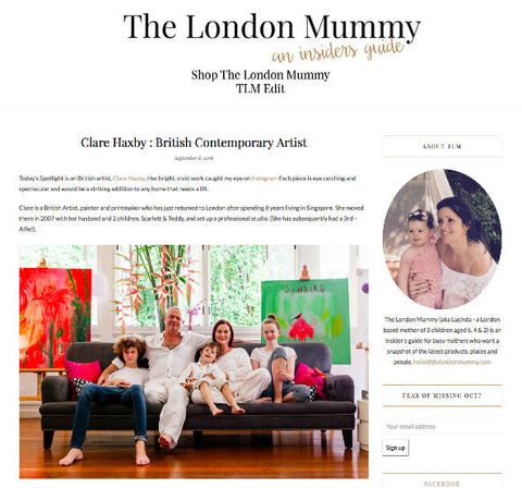 The London Mummy Press Clare Haxby