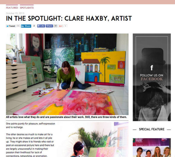 Clare Haxby Executive Lifestyle Web
