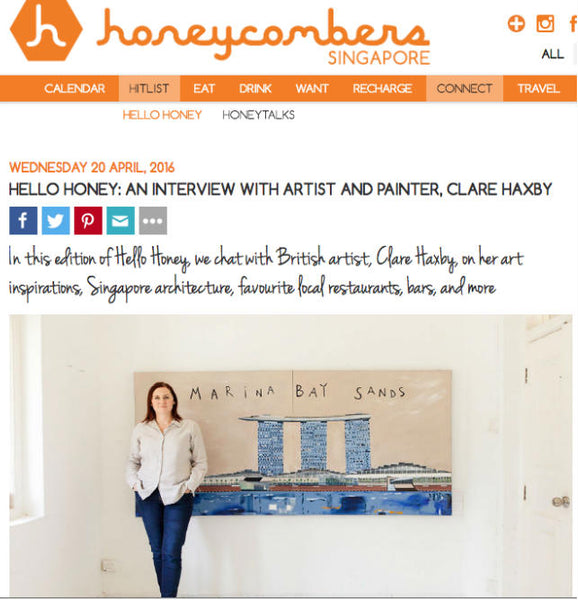 Honeycombers Singapore Interview With Clare Haxby