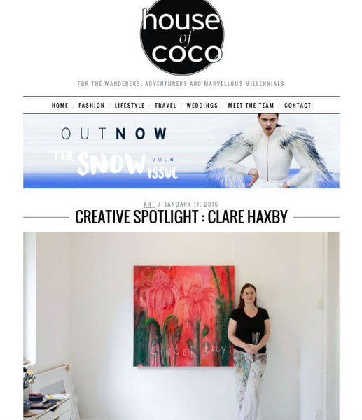 Clare Haxby House of Coco