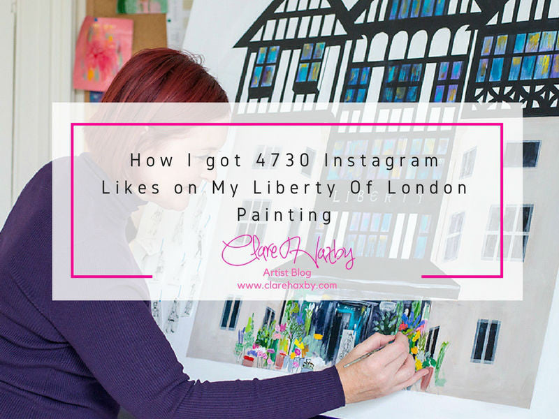 how I got 4730 likes on my liberty of london painting