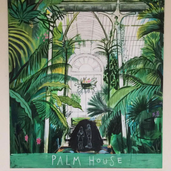 Palm House Kew Gardens Clare Haxby