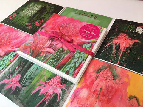 Gingerlilies Greetings Cards