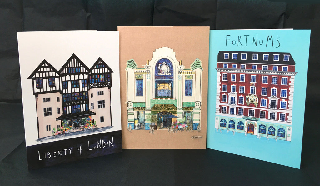 Artistic Architecture of London - Greetings Card Pack