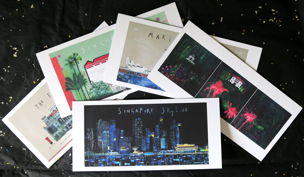 Singapore Greetings Cards - Landmarks Collection