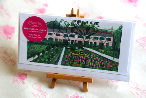Greetings Cards Pack of 3 - Monet's Garden Giverny
