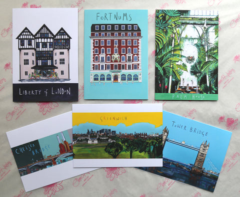 Greetings Cards - London Landmarks Collection