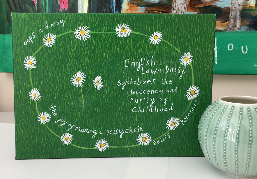 'Oops a Daisy' Commissions from #ClareHaxbyFlowers - Children's Gifts