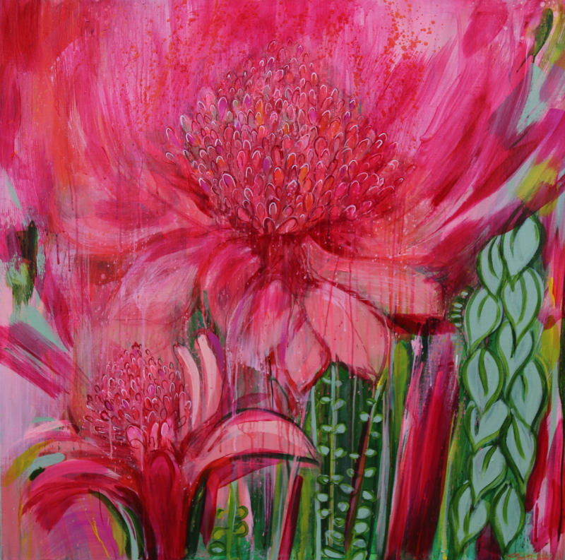 Magenta Meet me at The Ginger Lilies [SOLD]