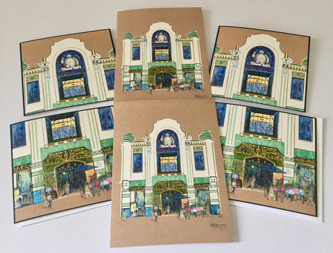 Artistic Architecture of London - Michelin Building Greetings Cards (Set of 3 designs)
