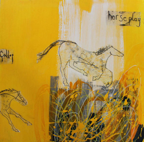 Horse Play Limited Edition Art Print