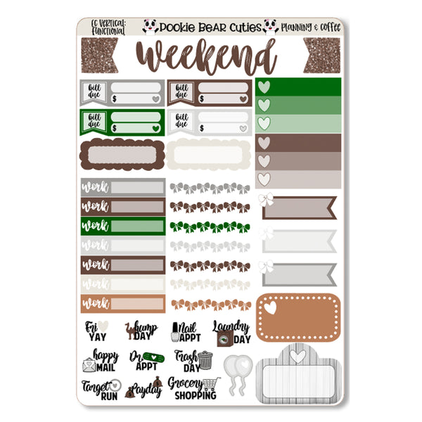 Planning & Coffee Weekly Kit
