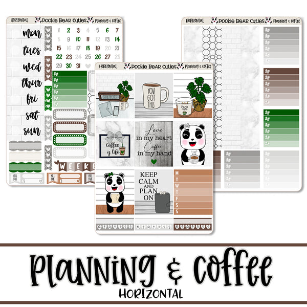 Planning & Coffee- Horizontal