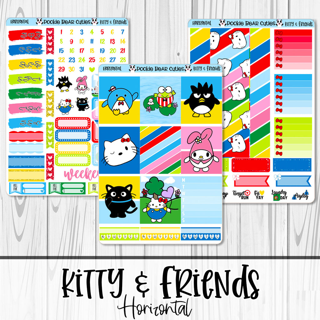 Kitty & Friends | Horizontal