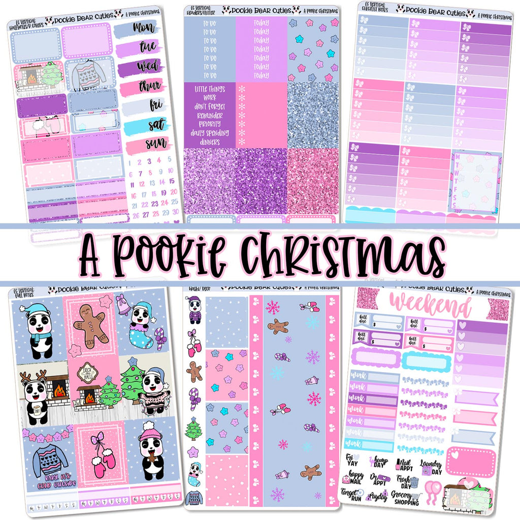 A Pookie Christmas Weekly Kit