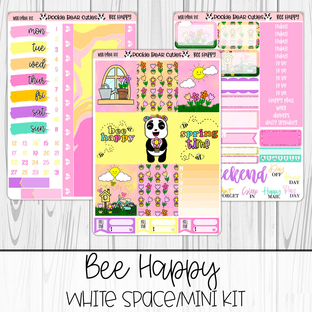 Bee Happy | White Space Kit