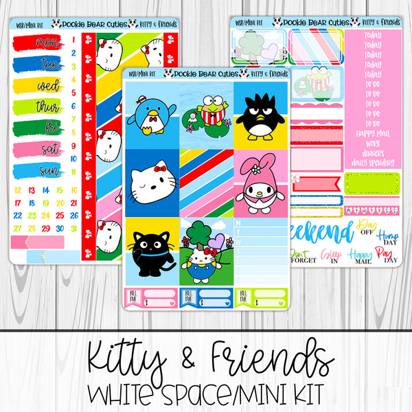 Kitty & Friends | White Space Kit